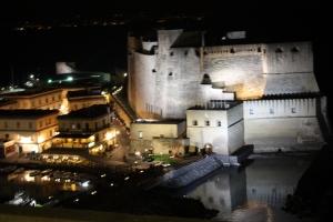 Le immagini di Castel dell'Ovo dalla sala Posillipo del Royal sede del Club